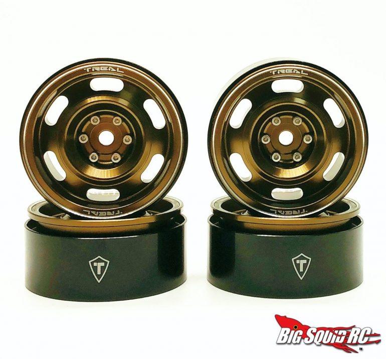 Treal Vintage Design Beadlock Wheels - Copper