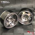 Treal Vintage Design Beadlock Wheels - Silver - 2