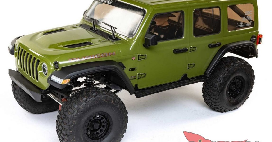 Axial Racing 6th Scale SCX6 Jeep JLU Wrangler RTR