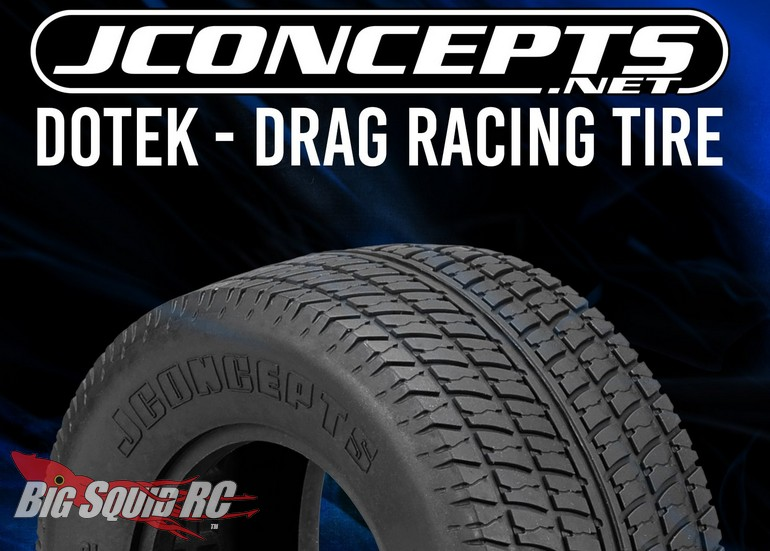 JConcepts Dotek Drag Bashing Rear Tires