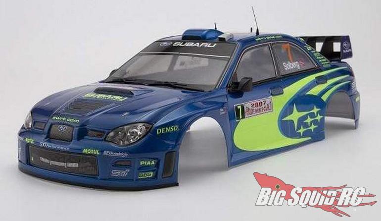 Killerbody RC Subaru Impreza WRC 2007 Pre-Painted Body