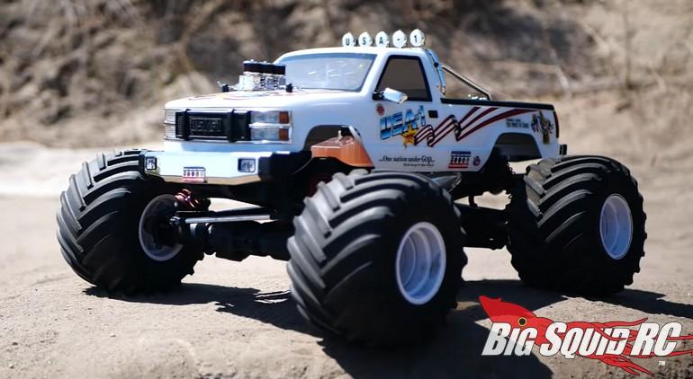 Kyosho RC USA-1 Nitro Monster Truck Video