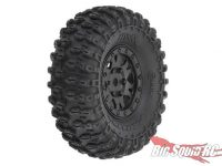 Pro-Line RC 24th Scale Hyrax 1.0 Pre-Mounted Tires Black Impulse Wheels