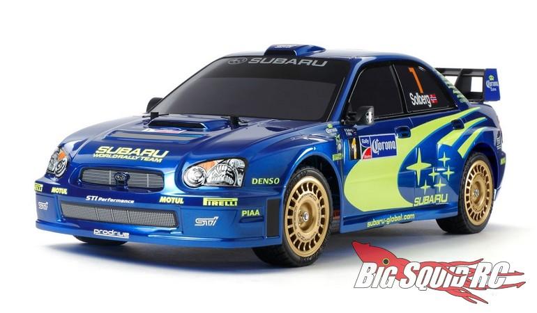 Tamiya Subaru Impreza WRC Mexico 2004